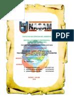 Filtro de Carbon Activado en El Tratamiento de Aguas Residuales Provenientes de La Descarga de Chaiwa