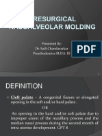 Presurgical Naso Alveolar Molding