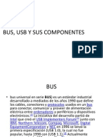 Bus, Usb y Sus Componentes