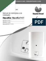 Manual Calentador Opaliaf11 f14 f17 m
