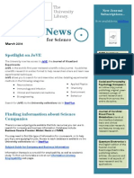 Science Newsletter Latest