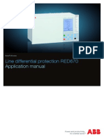1MRK505186-UEN D en Application Manual Line Differential Protection IED RED 670 1.1