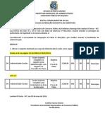 Edital Complementar Nº 001 Ret144170712