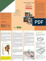 Folder Para Gestão de Resíduos Sólidos