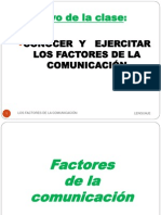 Factores de La Comunicacion 1eros Niveles