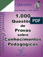 1736_conh. Ped- 1.000 Questoes de Provas - Apostila Amostra