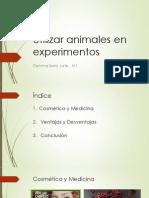 Utilizar Animales en Experimentos