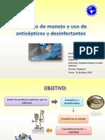 Protocolo de Manejo y Uso de Antisépticos y