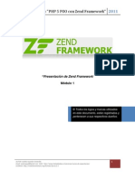 1 1 Zend Framework Introduccion