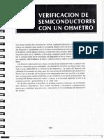 Verificación de Semiconductores Con Un Óhmetro