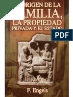 El Origen de La Familia y La Propiedad Privada-EnGELS,FRIEDRICH