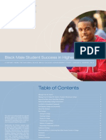 Black Male Student Success