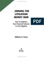 Winning the Litigation Money War - First Pages