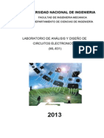 Laboratorio de Analisis de Circuitos Electronicos
