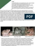 Especies Introducidas en Chile