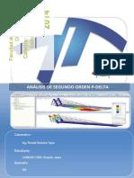 Informe, Análisis Con p Delta