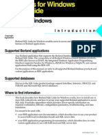 Borland Delphi SQL User Guide