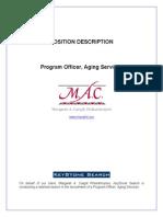 Margaret A. Cargill Philanthropies - Program Officer, Aging Services