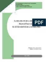 Fin de La Historia Francis Fukuyama Por Ana Henriquez Orrego1