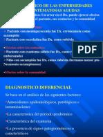 Dx. de Enfermedades Exantematicas