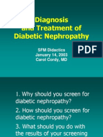 Diabetic Nephropathy PPT