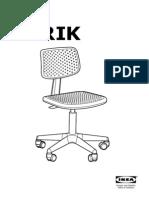 Alrik Swivel Chair AA 510850 5 Pub