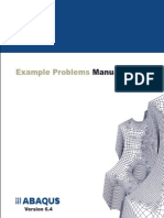 [Abaqus].Abaqus Examples Problems Manual