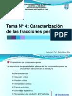 Tema N 4 Caracterizacion de Las Fracciones Pesadas