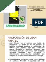 Proposición de Jean Pinatel