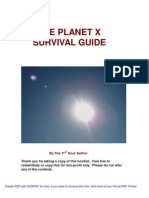 The Planet x Survival Guide