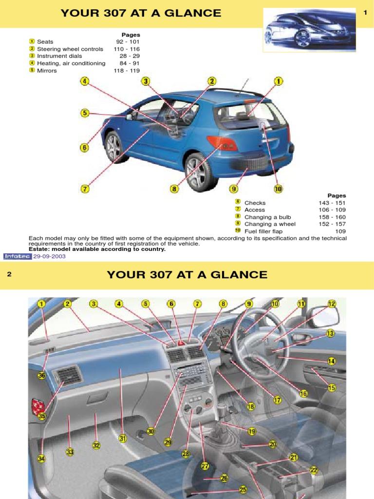 peugeot 307 owners manual 2003 anti lock braking system manual