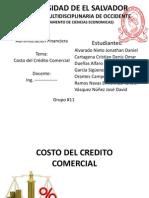 Costo de Credito Comercial