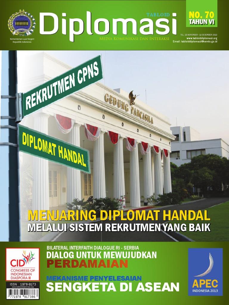 Tabloid Diplomasi Nopember 2013