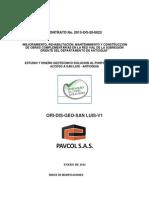 Geotecnia Kmentrada a San Luis 13-01-2014 Ver 02