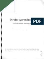 Caderno de Aeronáutico Do Assumpção