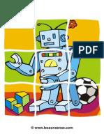 Puzzle Robot 01