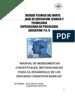Manual de Herramientas Conceptuales y Metodologicas