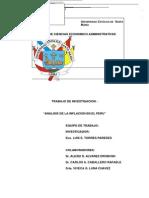 Analisis de La Inflacion en El Peru