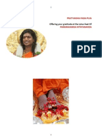 Latest Updated Pada Puja Mantras and Meaning in English 2013jun30