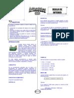 AR-10Y-06 (TP - Compendio II) BG - Tarde