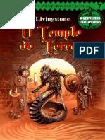 O Templo Do Terror - Aventuras - Ian Livingstone