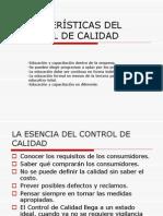 Características Del Control de Calidad (2)