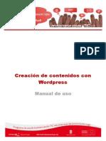 Manual 15 Creación Contenidos Con Wordpress