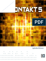 Kontakt 5 Application Reference German