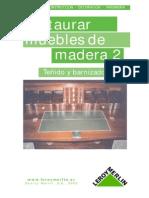 Restauracion Muebles de Madera 2