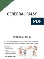 Medback - Cerebral Palsy (Ppt)