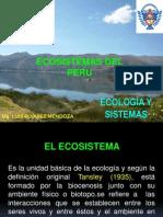 Clase Nº 3 - Ecosistemas Del Perú