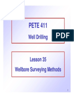 35 Wellbore Surveying Methods