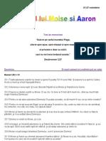 """Textele studiului """"Pacatul lui Moise si Aaron"""""""
