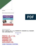 EEC V FIESTA 1.0L e 1.3L. MONDEO 97. RANGER 2.3L. RANGER 4.0L. EXPLORER 4.0L..docx